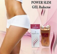 Power Slim Pro-Massage Cellulite lipo GEL reductor MASAGEADOR firming skin