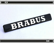 Brabus Black Badge Emblem Rear Truck Side Mercedes Smart C CL CLK SLK S SL Class