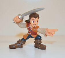"2.5"" William Will Turner Adventure Heroes Action Figure Pirates Of The Caribbean"