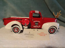 "1999 Franklin Mint Chrismas-"" FRANKLIN'S BAIT / TACKLE "" 1940 Ford Pickup Truck"