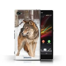STUFF4 Case/Cover for Sony Xperia Z1 Compact/Wildlife Animals/Wolf