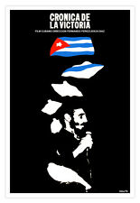 "Cuban movie Poster 4 film""Fidel Castro HISTORY""politica.Political Communist art"