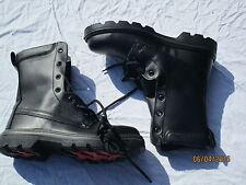 Sicherheits Stiefel, schwarze Boots Safety High Leg , Gr.  9 M (43)