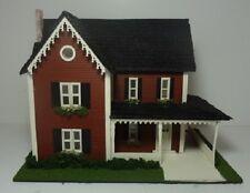 Dollhouse Miniature 1:48 Scale Farm Style House Kit #524