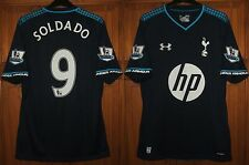 Used - Mint - Genuine Tottenham 2013/14 3rd Away Shirt  SOLDADO 9  Mens Medium