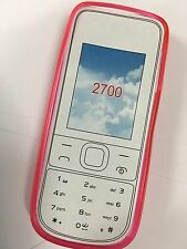 Nokia 2700c Fitted TPU Jelly Case Cover Pink JCNOK2700PP - A Brand New Original
