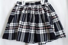 GIRLS L 10 12 RED WHITE BLUE PATRIOTIC PLAID SKORT NWT ~ THE CHILDREN'S PLACE