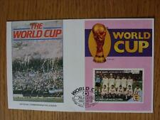 07/05/1986 World Cup Postal Cover: CC 1053 - Argentina Crowd Scene - Stamp: Russ