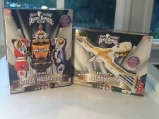 Mighty Morphin' Power Rangers Movie Legacy Falconzord & Ninja Megazord Complete
