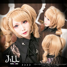 anime manga lolita cosplay Bourbon Dynasty Rose of Versailles pigtail wig