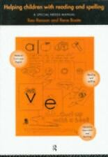 Helping Children with Reading and Spelling : A Special Needs Manual by Rene...