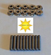 Small Block Mopar 273 318 340 360 STAINLESS STEEL VALVE COVER STUD KIT S/S Bolts