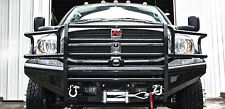 2006-2009 Dodge Ram HD Fab Fours Black Steel Bumper DR06-S1160-1 w/ $35 Rebate