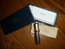 Mikimoto International Gold Pearl Bow Atomizer Perfume Travel Sprayer w/ box