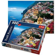 Trefl 500 Piece Adult Large Positano Italy View Landscape Wall Jigsaw Puzzle NEW