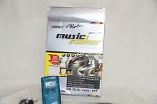 eBlitz Audio Labs Magix Music Maker Music Video Creation w/ Shuttle MP3 Player