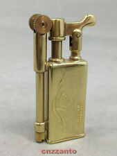 Golden Collectable Vintage Solid brass / copper oil cigarette lighter Z033