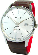 Ruhla Classic Made in Germany Herren Edelstahl Uhr mens watch swiss movt Garde