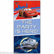 "65"" Disney CARS 2 Party Plastic Door Poster Decoration"