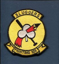 VF-103 SLUGGERS US Navy Grumman F-14 TOMCAT F-4 PHANTOM Fighter Squadron Patch