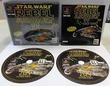 Game Gioco Playstation PSOne PSX 1 PS1 PAL ITALIANO STAR WARS REBEL ASSAULT II 2