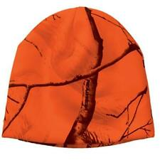 Blaze Orange Camo Camouflage Realtree AP All Purpose Beanie Hat Hunting