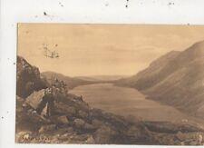 Llyn Cawlyd North Wales 1913 Hugo Lang Postcard 980a