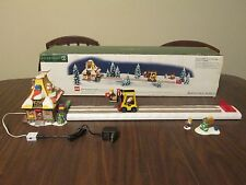Department dept 56 ~ LEGO WAREHOUSE FORKLIFT north pole series legos