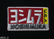ECUSSON Brodé - PATCH Thermocollant - YOSHIMURA (U.S.A) / 92x54mm / Embrodery