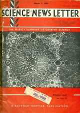 1958 Science News Letter Vol.73 No.9: Atomic Lace/Heart Study/Global Warming