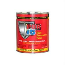 New POR-15 - Rust Preventive - Semi Gloss Black - Quart