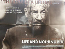 Phillipe Noiret LIFE AND NOTHING BUT(1989) Original movie poster