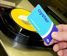London Travel Oyster Card For Buses Subway Metro Pass & Free £5 Travel Credit