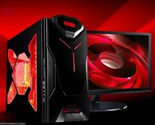 AMD Quad Core Gaming PC Desktop Computer New Fast 2TB HDD Custom Built System
