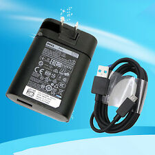 genuine Dell Venue 7 8 10 11 Pro Tablet 24W AC Adapter Charger DA24NM130