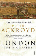 London: The Biography, Ackroyd, Peter Paperback Book