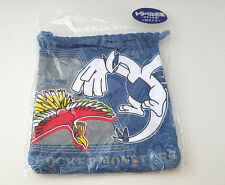 Pokemon drawstring bag 3DS case Ho-oh Lugia blue diamond and pearl