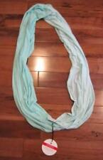 LULULEMON TWIST AND SHOUT CIRCLE SCARF IN AQUAMARINE NWT two tone