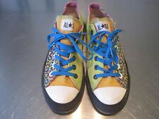 CONVERSE ALL-STAR custom made 7 1/2 7.5 US girls shoes low top KITTY punk grrrl