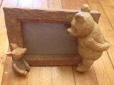 Winnie The Pooh & Piglet Picture Frame By Charpente Disney 4 x 6 Photo