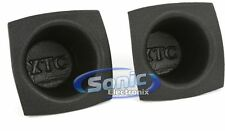 "NEW The Install Bay VXT55 XTC 5"" to 5-1/4"" Round Foam Car Speaker Baffles"