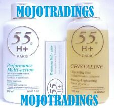 55H+ 3LOT! Performance Multi-Action Strong Bleaching Lotion,Glycerin&Tube Cream!