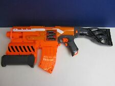 large NERF ELITE 2 in 1 DEMOLISHER GUN automatic fire DART TOY missing cover 825