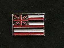 ALOHA ARMY FLAG PRIDE ENAMEL PIN WHITE NEW in4mation farmers market