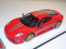 1/18 Looksmart MR Ferrari F430 Scuderia Rosso Corsa Gold Leather 25 pcs