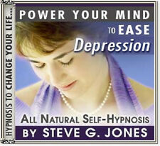 DR.STEVE G. JONES Clinical Hypnotherapist Ease Depression HYPNOSIS CD