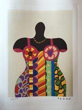 Nikki De Saint Phalle - Lithographie signée et numerotée .prix Galerie 350 e