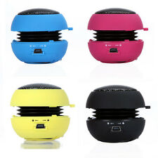 Mini Portable Travel Speaker Hamburger speaker for Smartphones MP3 MP4 Laptop