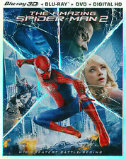 The Amazing Spider-Man 2 Blu-ray 3D w/ 2D Blu-ray, DVD and digital copy