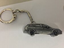 Saab 93 Estate 1995 3D snake keyring great pewter effect keyring ref237